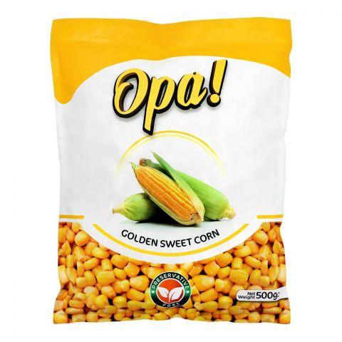Opa! Frozen Golden Sweet Corn, 500g