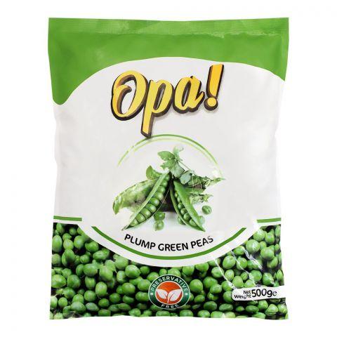 Opa! Frozen Plum Green Peas, 500g