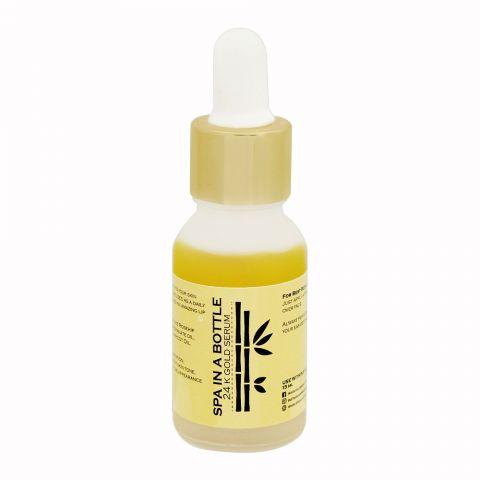 Spa In A Bottle 24K Gold Serum, 15ml