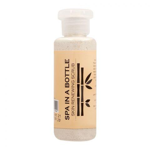 Spa In A Bottle Skin Renewing Scrub, 80g