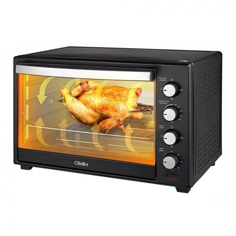 Clickon Electric Toaster Oven, 48 Liters, 2000W, CK-4314