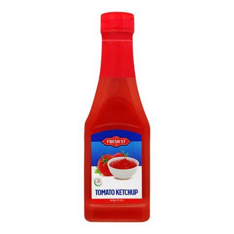 Fresh Street Tomato Ketchup, Pet Bottle, 340g