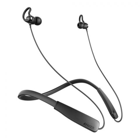 Anker Sound Core Rise Ultra Lightweight Bluetooth Earphones With Neckband, Black, A3271Y13