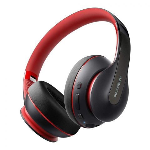 Anker Sound Core Life Q10 High-Clarity Sound Wireless Headphones, Black, A3032H12