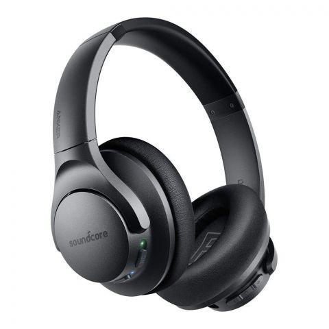 Anker Sound Core Life Q20 Pure Sound No Noise Wireless ANC Headphones, Black, A3025011-1