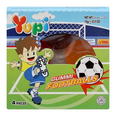 Yupi Gummi Footballs Jelly, 1 Count, 16g