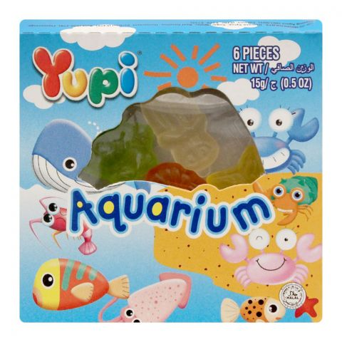 Yupi Aquarium Jelly, 1 Count, 15g