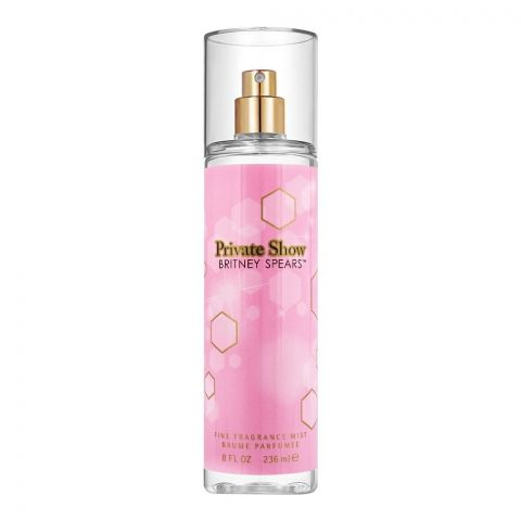 Britney Spears Private Show Fine Fragrance Mist, 236ml