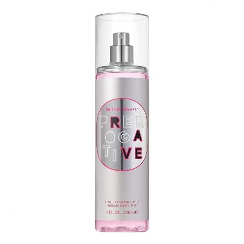 Britney Spears Prerogative Silver Fine Fragrance Mist, 236ml