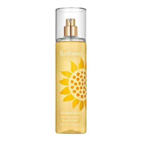 Elizabeth Arden Sunflowers Fine Fragrance Mist, 236ml