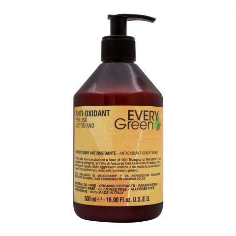 Every Green Anti-Oxidant Conditioner, Paraben Free, 500ml