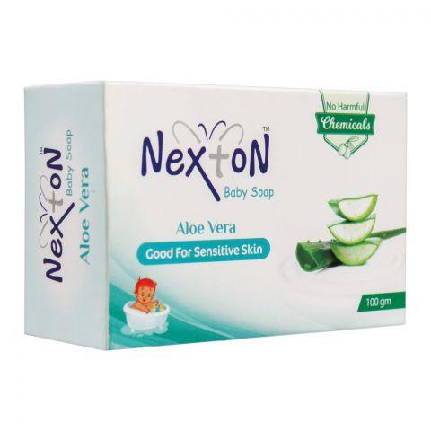Nexton Aloe Vera Baby Soap, 100g