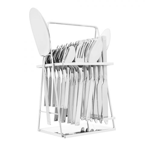 Elegant Stainless Steel Cutlery Set, 26 Pieces, FF26GS-16
