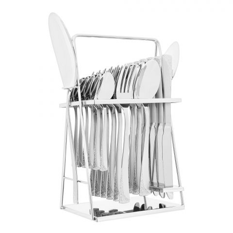 Elegant Stainless Steel Cutlery Set, 26 Pieces, FF26GS-18