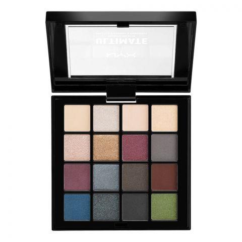 NYX Ultimate Eyeshadow Palette, Smokey & Highlight