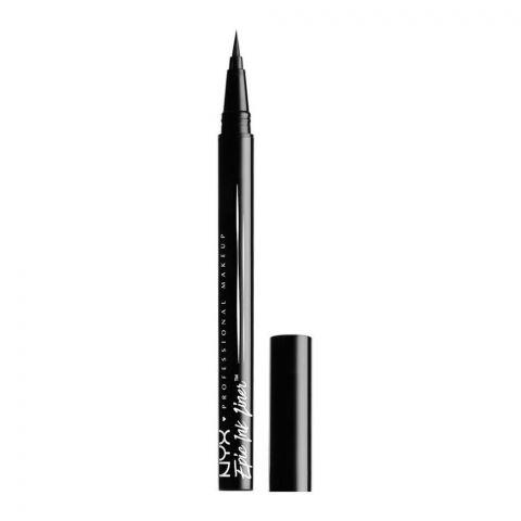 NYX Epic Ink Eyeliner Waterproof, 01 Black