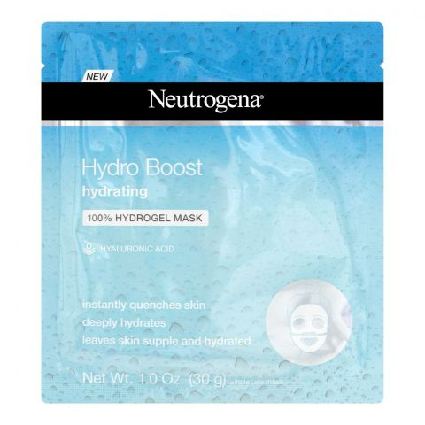 Neutrogena Hydro Boost Hydrating 100% Hydrogel Face Mask, 30g