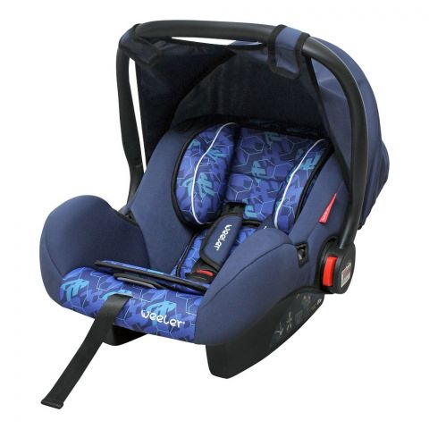 Weeler Baby Carry Cot, Navy Blue, 555