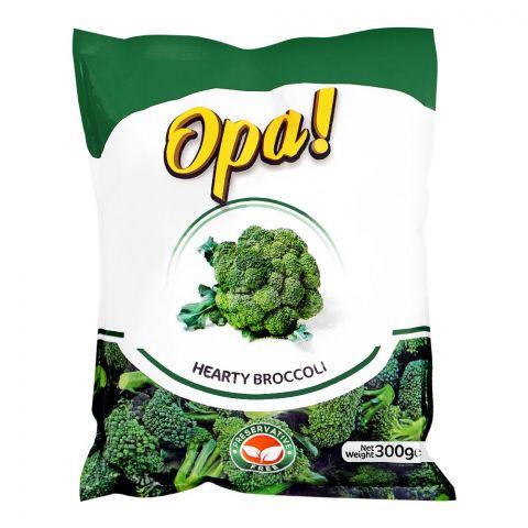 Opa! Frozen Hearty Brocolli, 300g