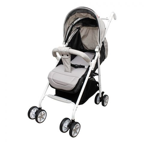 Care Me Baby Stroller, Grey, KMT-689