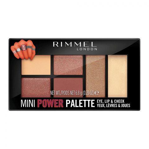 Rimmel Mini Power Palette, For Eye, Lip & Cheek, 006 Fierce