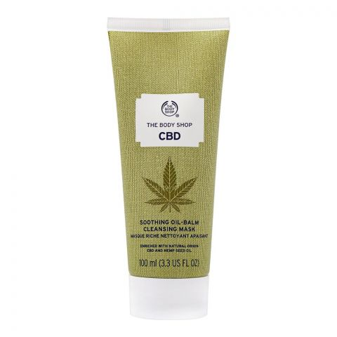 The Body Shop CBD Soothing Oil-Balm Cleansing Face Mask, 100ml
