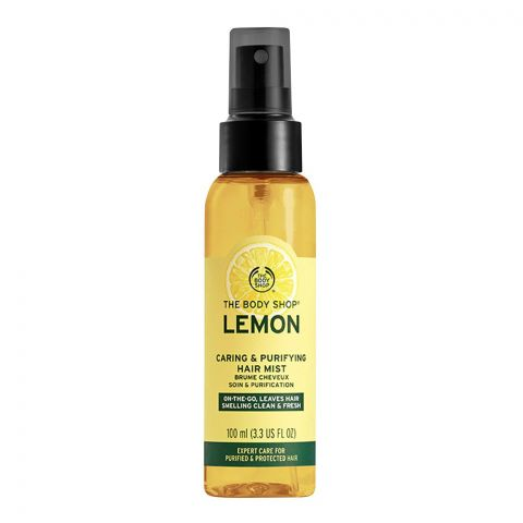 The Body Shop Lemon Caring & Purifying Hair Mist, 100ml