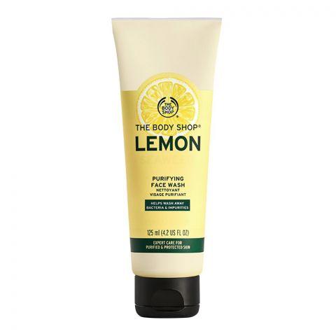 The Body Shop Lemon Purifying Face Wash, 125ml