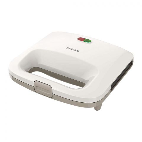 Philips Daily Collection Sandwich Maker, 820W, White, HD-2392