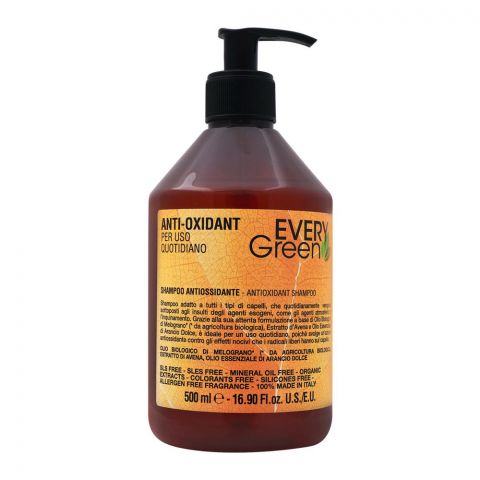 Every Green Anti-Oxidant Shampoo, 500ml