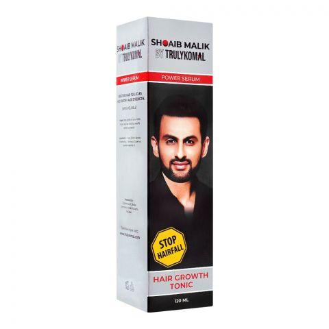 Shoaib Malik By Truly Komal Power Serum Hair Growth Tonic, 120ml