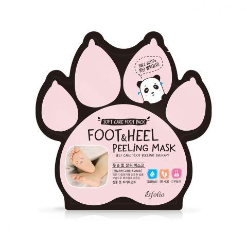 Esfolio Foot & Heel Peeling Mask, 2-Pack, 20ml