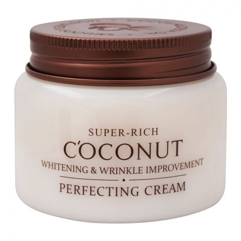 Esfolio Super-Rich Coconut Perfecting Cream, Whitening & Wrinkle Improvement, 120ml