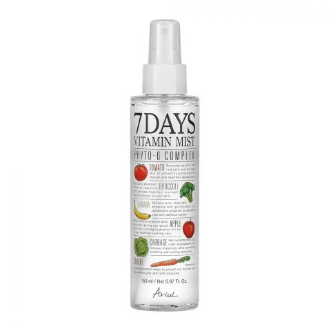 Ariul 7days Phyto-6 Complex Vitamin Face Mist, 150ml