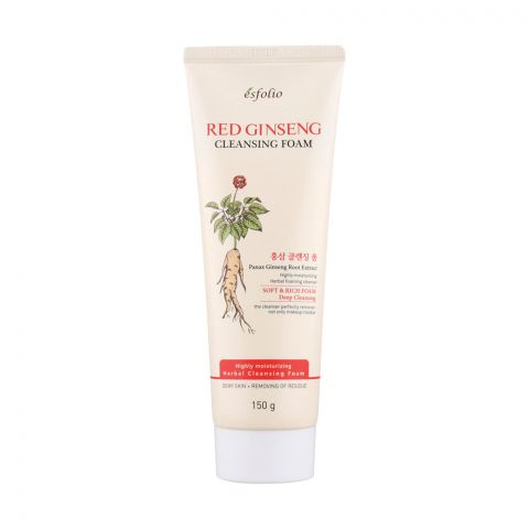 Esfolio Red Ginseng Cleansing Foam, 150g