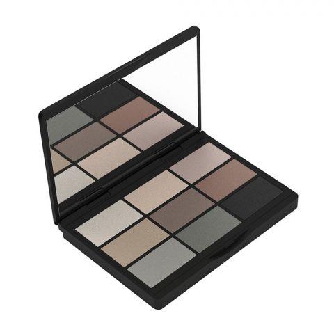 Gosh Matt Eyeshadow Collection Kit, 9-Shades, 004 To Be Cool In Copenhagen