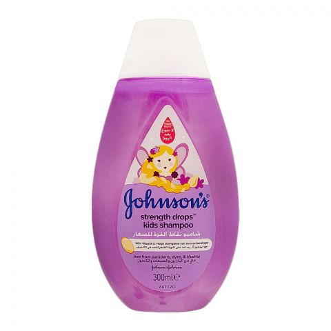 Johnson's Strength Drops Kids Shampoo, Italy, 300ml