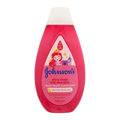 Johnson's Shiny Drops Kids Shampoo, Italy, 500ml