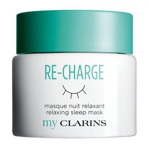 Clarins My Clarins Re-Charge Relaxing Sleep Facial Mask, 50ml