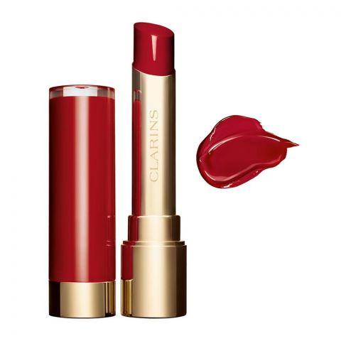 Clarins Paris Joli Rouge Lacquer Intense Colour Lip Balm, 754L Deep Red