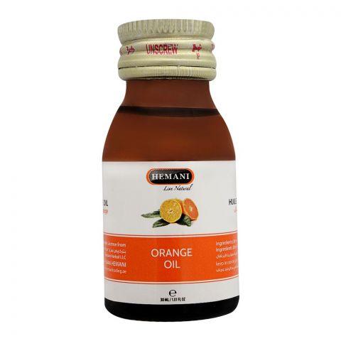 Hemani Orange Oil, 30ml