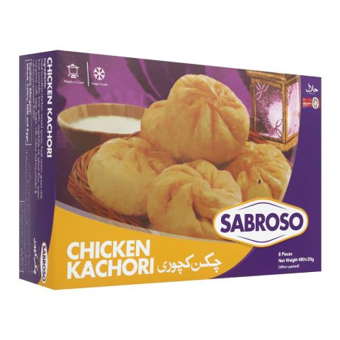 Sabroso Chicken Kachori, 8 Pieces, 480g