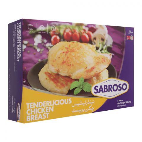 Sabroso Tenderlicious Chicken Breast, 5 Pieces, 500g