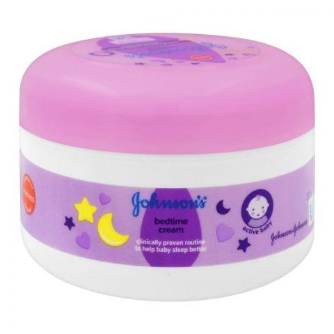 Johnson's Active Baby Bedtime Cream, 200ml