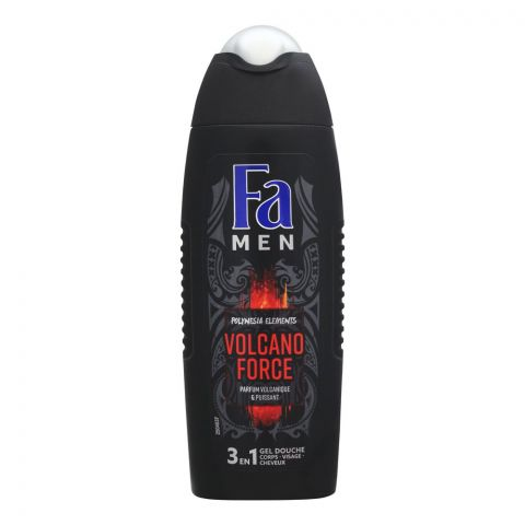Fa Men Volcano Force 3-In-1 Body Hair & Face Shower Gel, 250ml