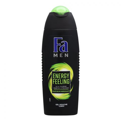 Fa Men Energy Feeling Lemon Scent Shower Gel, 250ml