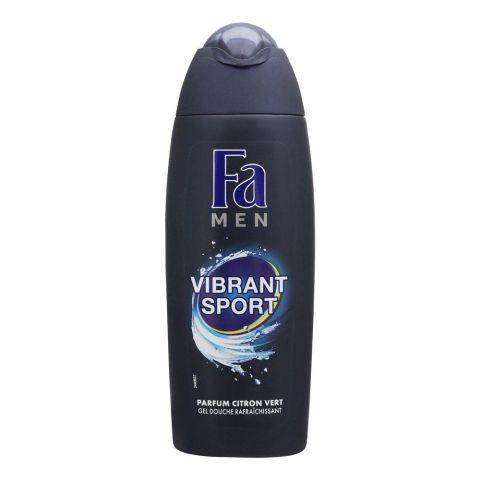 Fa Men Vibrant Sport Lime Scent Shower Gel, 250ml