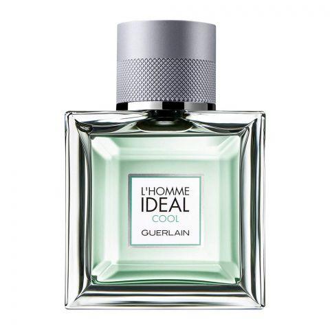 Guerlain L'Homme Ideal Cool Eau De Toilette, Fragrance For Men, 50ml