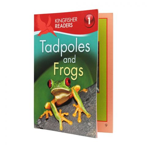 Kingfisher Readers Level 1: Tadpoles And Frogs Book