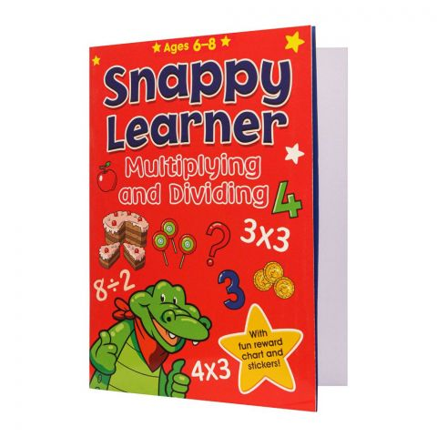 Snappy Learner Multiplying & Dividing Book